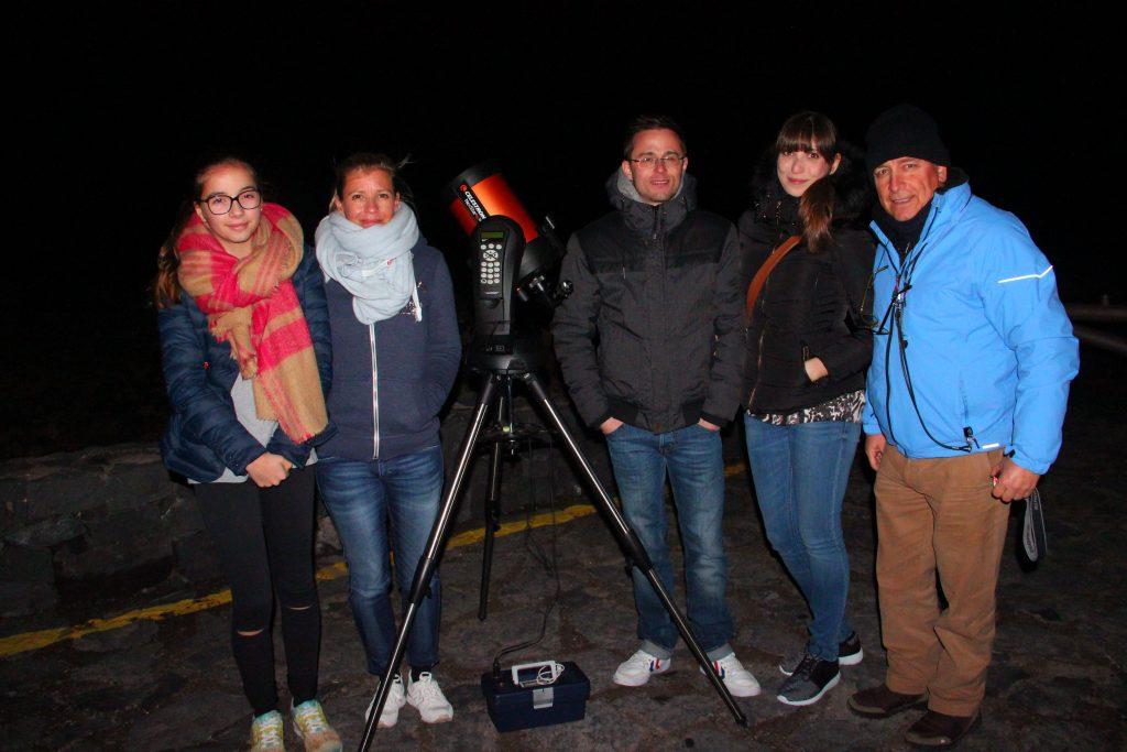 Teide estrellas: la tecnología facilita la observación del cielo.