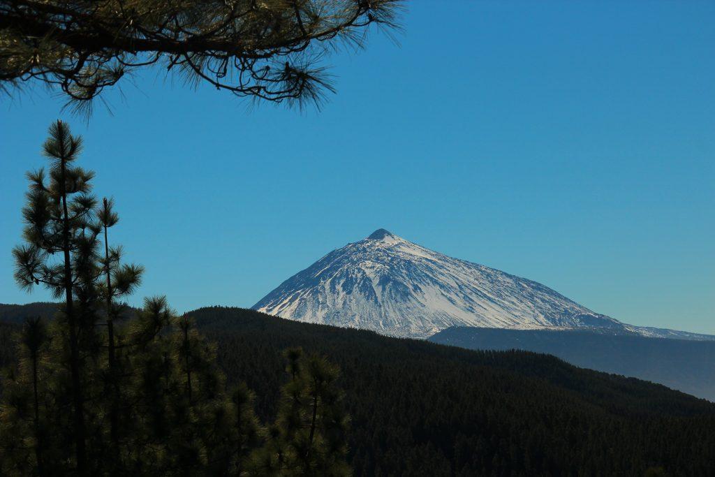 Empresa de excursiones tinerfeña: una vista del Teide