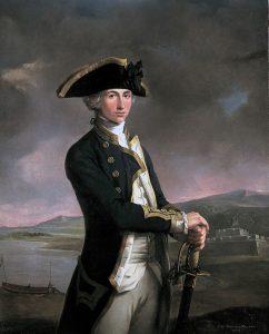almirante horacio nelson tenerife retrato